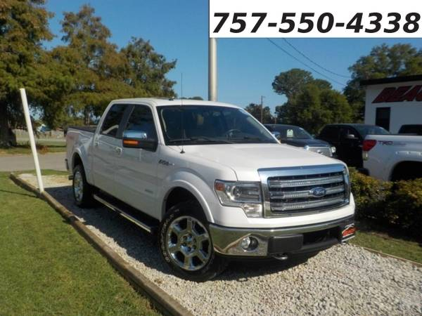 Photo 2013 Ford F-150 LARIAT SUPERCREW 4X4, WARRANTY, LEATHER, SUNROOF, (_Ford_ _F-150_ _Truck_)