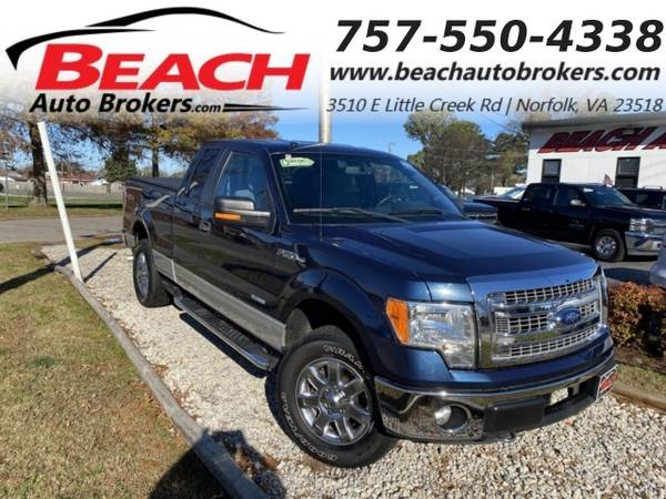 Photo 2013 Ford F-150 XLT SUPERCAB 4X4, WARRANTY, BACKUP CAM, PARKING SE (_Ford_ _F-150_ _Truck_)