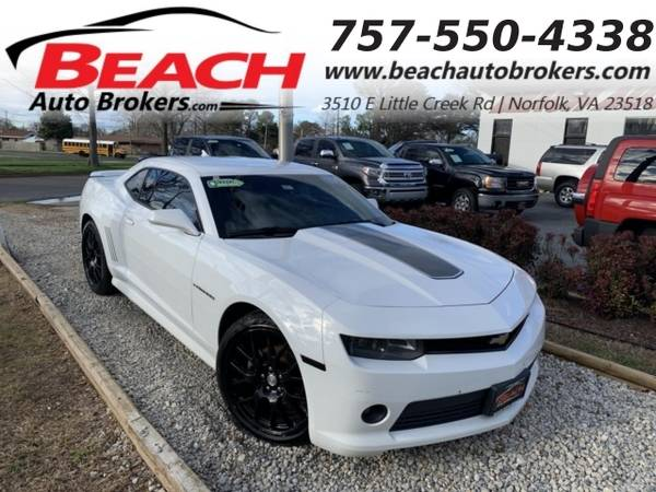 Photo 2014 Chevrolet Camaro 2LT, WARRANTY, LEATHER, RS PKG, NAV, BACKUP CAM, (_Chevrolet_ _Camaro_ _Coupe_)