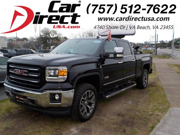 Photo 2014 GMC Sierra 1500 SLT ALL TERRAIN CREW CAB 4X4, WARRANTY, REMOTE ST (_GMC_ _Sierra 1500_ _Truck_)