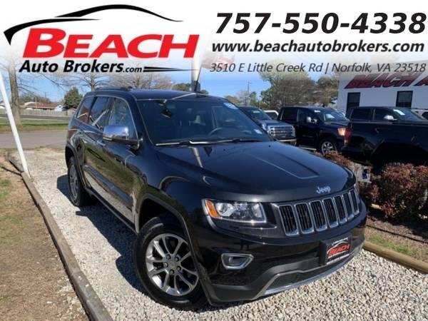 Photo 2014 Jeep Grand Cherokee LIMITED 4X4, WARRANTY, LEATHER, SUNROOF, NAV, (_Jeep_ _Grand Cherokee_ _SUV_)