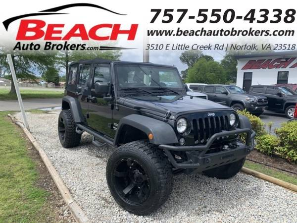 Photo 2014 Jeep Wrangler Unlimited UNLIMITED SPORT 4X4, WARRANTY, AC, CRUIS (_Jeep_ _Wrangler Unlimited_ _SUV_)