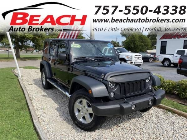 Photo 2014 Jeep Wrangler Unlimited UNLIMITED SPORT 4X4, WARRANTY, HARDSOFT (_Jeep_ _Wrangler Unlimited_ _SUV_)