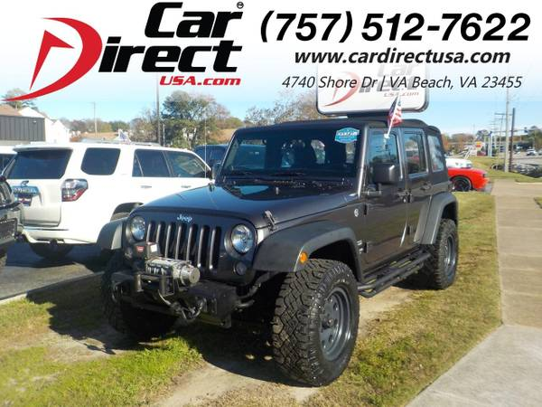Photo 2014 Jeep Wrangler Unlimited UNLIMITED SPORT 4X4, TOW PACKAGE, WINCH,S (_Jeep_ _Wrangler Unlimited_ _SUV_)