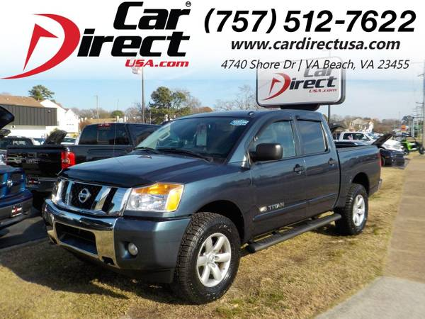 Photo 2014 Nissan Titan SV 4X4, WARRANTY, BLUETOOTH, POWER SLIDING REAR WI (_Nissan_ _Titan_ _Truck_)