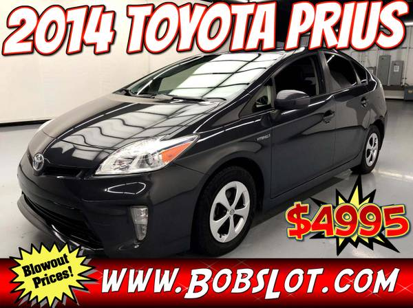 Photo 2014 Toyota Prius - 82K Miles Pay Cash or Bad Credit is OK - One Owner - $4,995 (norfolk)