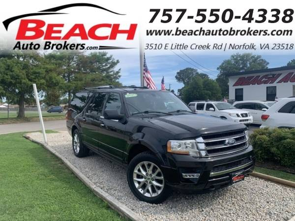 Photo 2015 Ford Expedition EL EL LIMITED 4X4, WARRANTY, LEATHER, SUNROOF, NA (_Ford_ _Expedition EL_ _SUV_)