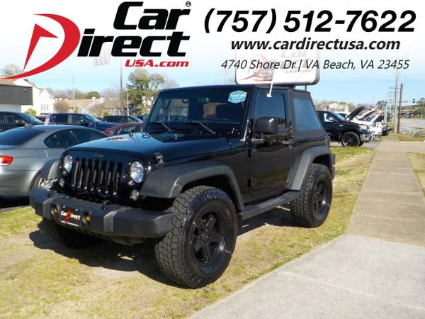 Photo 2015 Jeep Wrangler SPORT 4X4, WARRANTY, SOFT TOP, RUNNING BOARDS, TOW (_Jeep_ _Wrangler_ _SUV_)
