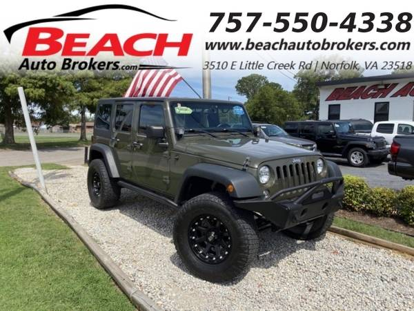 Photo 2015 Jeep Wrangler Unlimited UNLIMITED SPORT 4X4, WARRANTY, HARD TOP, (_Jeep_ _Wrangler Unlimited_ _SUV_)