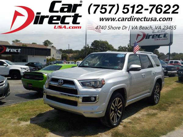 Photo 2015 Toyota 4Runner LIMITED 4X4, PARKING SENSORS, TOW, POWER REAR WIND (_Toyota_ _4Runner_ _SUV_)