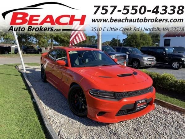 Photo 2016 Dodge Charger SRT HELLCAT, WARRANTY, 6.2L V8 SUPERCHARGED, LEATH (_Dodge_ _Charger_ _Sedan_)