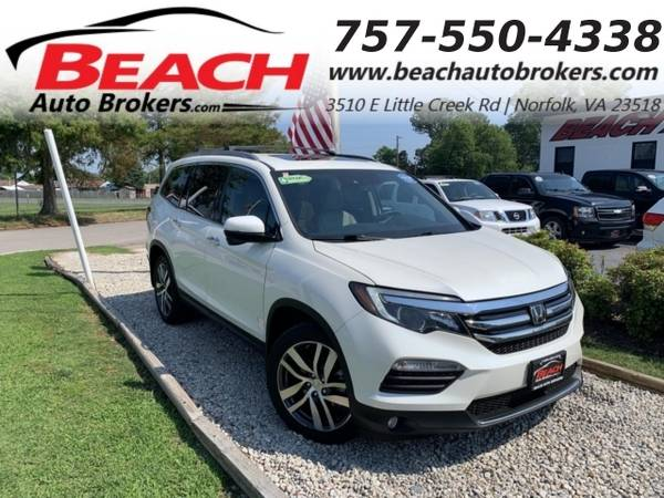 Photo 2016 Honda Pilot TOURING, WARRANTY, LEATHER, SUNROOF, NAV, BACKUP C (_Honda_ _Pilot_ _SUV_)