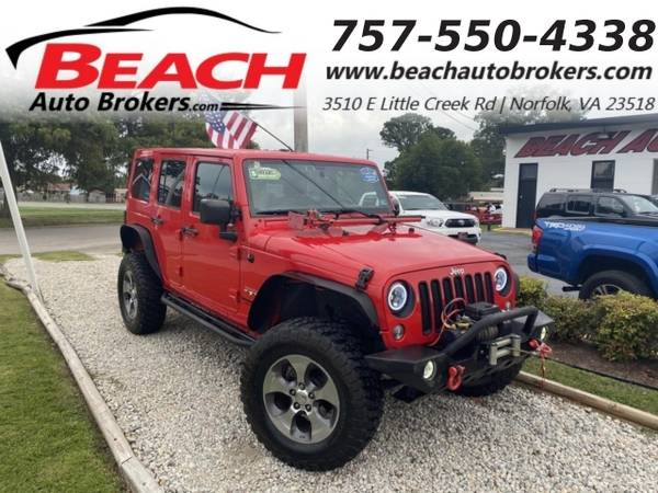 Photo 2016 Jeep Wrangler Unlimited UNLIMITED SAHARA 4X4, WARRANTY, LIFTED, H (_Jeep_ _Wrangler Unlimited_ _SUV_)