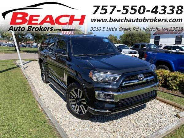 Photo 2016 Toyota 4Runner LIMITED 4X4, WARRANTY, LEATHER, NAV, SUNROOF, 3RD (_Toyota_ _4Runner_ _SUV_)