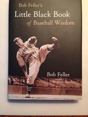Photo Bob Feller39s autographed Little Black Book - $65 (Williamsburg, VA)