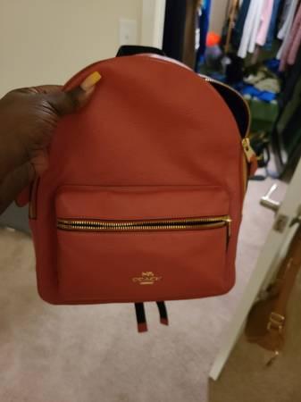 Photo Coach backpack purse - $60 (Chesapeake)