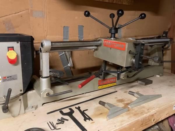 Photo Craftsman 2HP Professional Wood Lathe - $640 (Va. Beach)