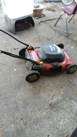 Photo Electric Lawnmower 4 Scrappers (Newport News)