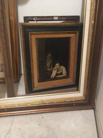 Photo FREE Lot of old picture frames  pictures (Rosemont  Holland)