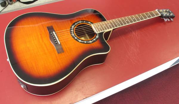 Photo Fender T-Bucket-300CE3TS Acoustic-Electric Guitar - $299