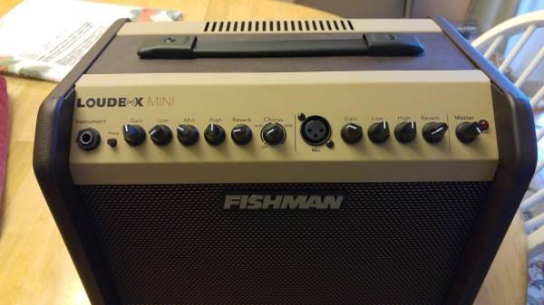 Photo Fishman loudbox mini guitar lifier combo with cover - $225 (Virginia beach)