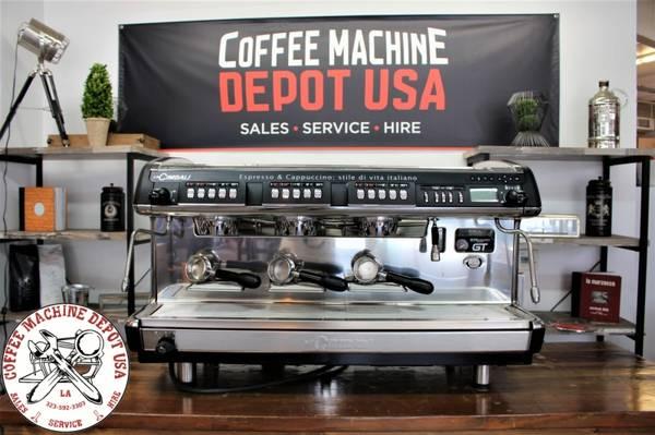 Photo La Cimbali M39GT Multi Boiler Commercial Coffee Espresso Machine Cafe - $5,999 (Los Angeles)
