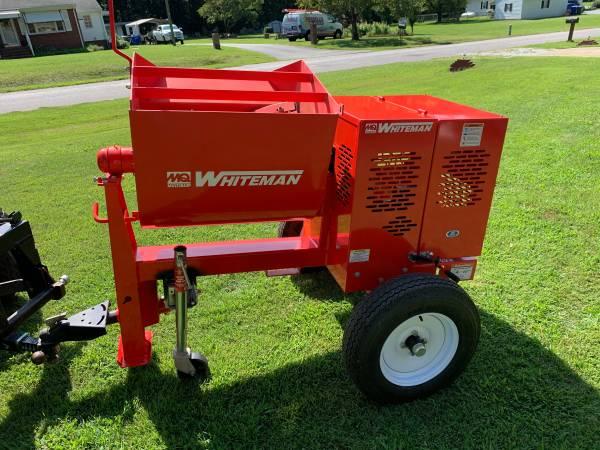 Photo Mortar concrete Mixer with Curbing Machine - $2,800 (Suffolk)