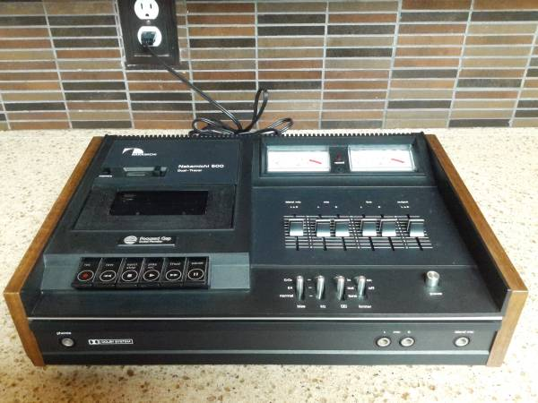 Photo NAKAMICHI Model 500 Dual-Tracer Cassette Deck - $200 (Yorktown)