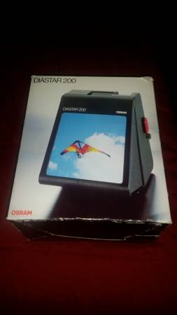 Photo OSRAM Diastar 200 Slide Viewer - $40