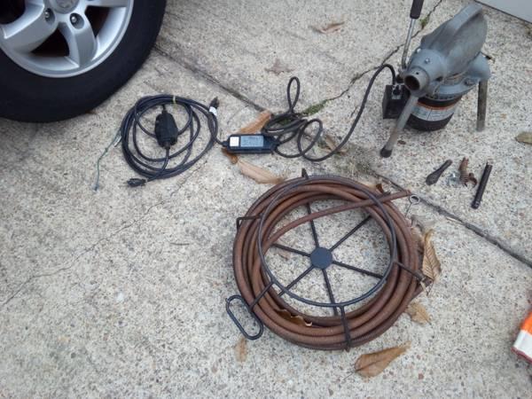Photo Ridgid K-50 PipeDrain Cleaner - $525 (Chesapeake)