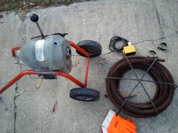 Photo Ridgid K-75B Drain Cleaner Machine - $600 (Chesapeake)