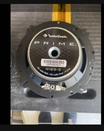 Photo Rockford Fosgate component speakers - $50 (Virginia Beach)