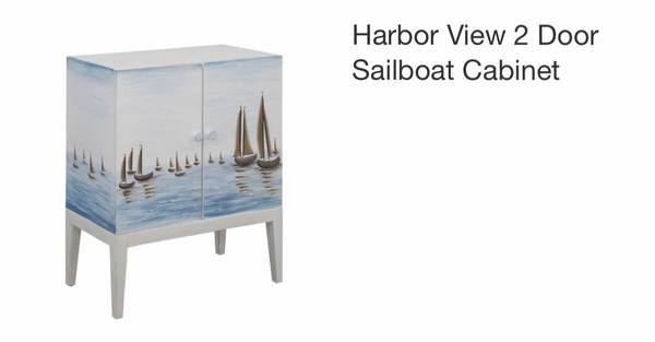 Photo Sailboat cabinet - $150 (Oceanview)