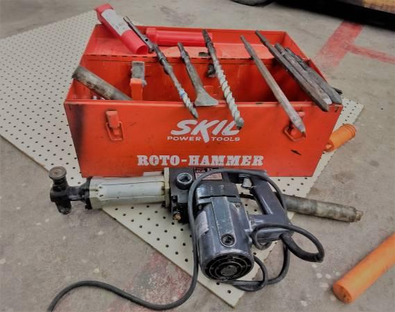 Photo Skil 2.5-in Roto Hammer - $150 (Hton, VA)