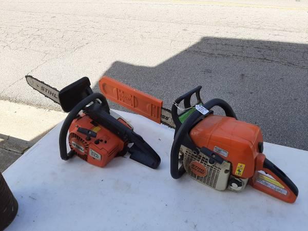 Photo Stihl MS290 and 015 AV chainsaws - $300 (Ivor, Va)
