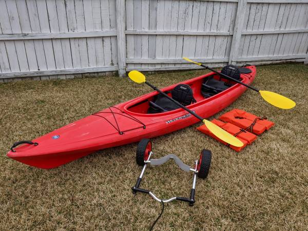Photo Tandem Wilderness Systems Pamlico 135T Kayak with Extras - $495 (Norfolk)