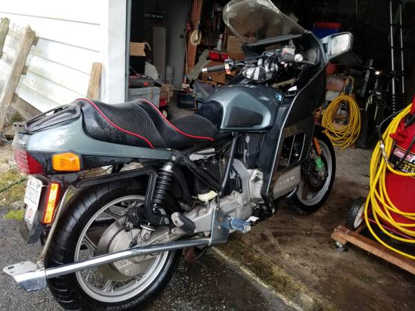 Photo Two BMW Motorcycles for Sale - GS $2800, K Bike $1800 - $4,600 (Windsor, VA)