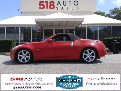 Photo Used 2004 Nissan 350Z Touring for sale