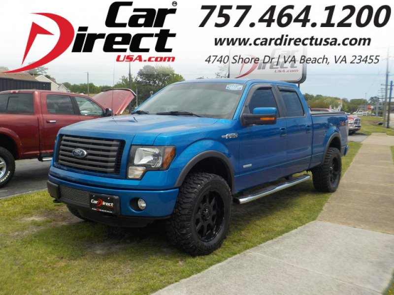 Photo Used 2011 Ford F150 4x4 SuperCrew for sale