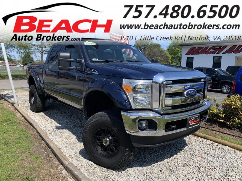 Photo Used 2011 Ford F250 4x4 Crew Cab Super Duty for sale