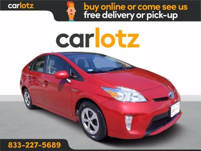 Photo Used 2013 Toyota Prius Three for sale