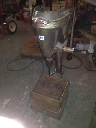 Photo Vintage Craftsman Benchtop model Drill Press - $100