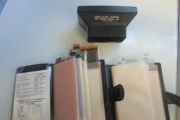 Photo Vivitar 283 flash adapter for lenses and filters - $5 (Pocahontas Village)