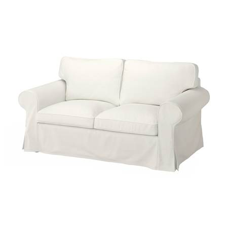 Photo White Sleeper Sofa  Matching Arm Chair - $200 (Virginia Beach)