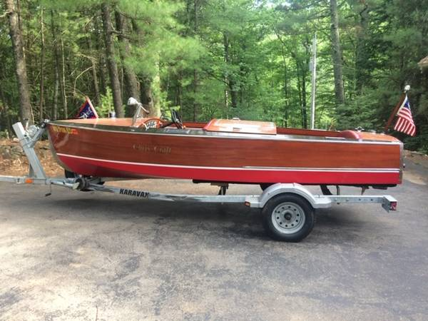 Photo 1932 Chris Craft for sale 1639 Vintage Wood boat $22,00.00 - $22000 (Lake Tomahawk)