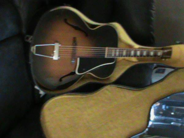 Photo 1955 Gibson L-50 - $2,500 (Plover, WI)
