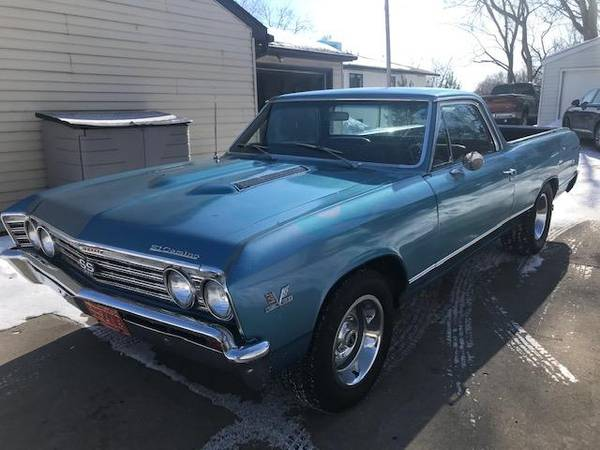 Photo 1967 Chevy El Camino SS 396 - $19500 (SOUTH ST PAUL , MN)