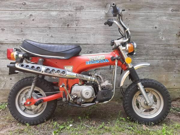 Photo 1976 Honda CT 70 - $2,000 (Wild Rose)