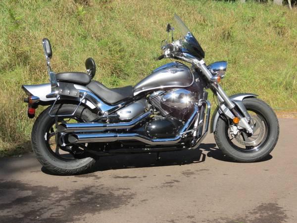 Photo 2006 Suzuki Boulevard M50 Motorcycle - $3,995 (Minocqua)
