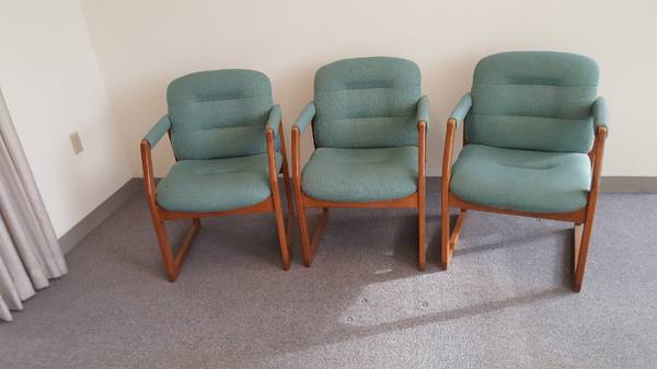 Photo 3 Customer Service Chairs - $40 (Rhinelander, WI)